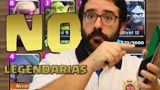 SIN LEGENDARIAS! MAZO GOLEM Y TRIO! | Clash Royale