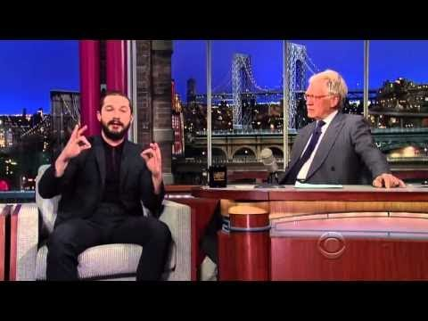 Shia Labeouf on David Letterman Full