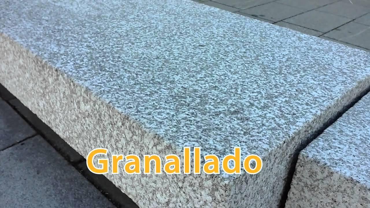 El proceso del granito youtube for Pisos de granito blanco gris