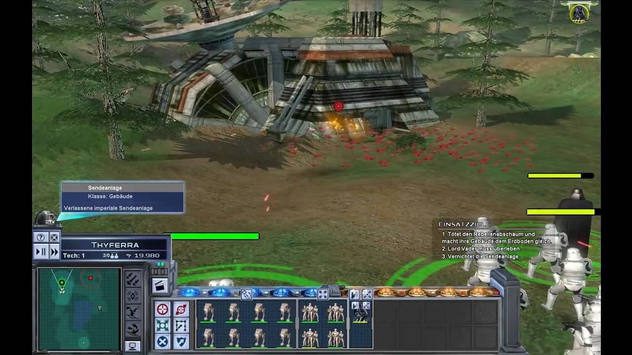 Star Wars Empire at War Gameplay #01 - YouTube