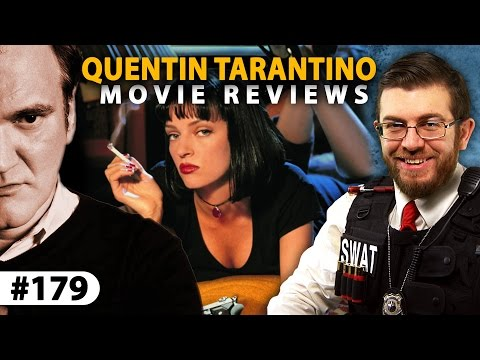 "QUENTIN TARANTINO Movie Reviews -- ""Reservoir Dogs"" to ""The Hateful Eight"""