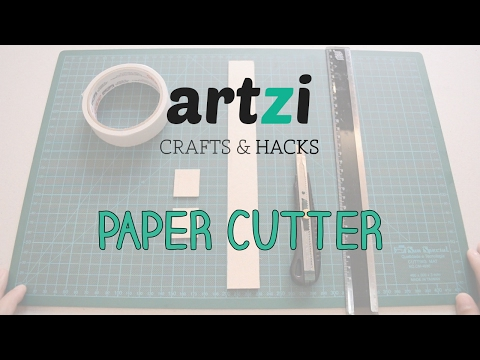 How to Cut Paper Without a Paper Cutter