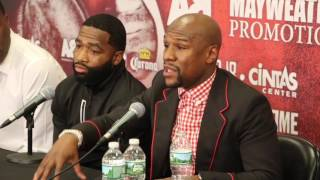FLOYD MAYWEATHER HITS OUT & SAYS NO ATHLETE SHOULD BE CONTROLLED BY SPONSORS / BRANDS IN SPORT