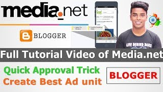 Full Tutorial Video of Media.net - Approved Media.net  On Blogger and How to Use Media.net