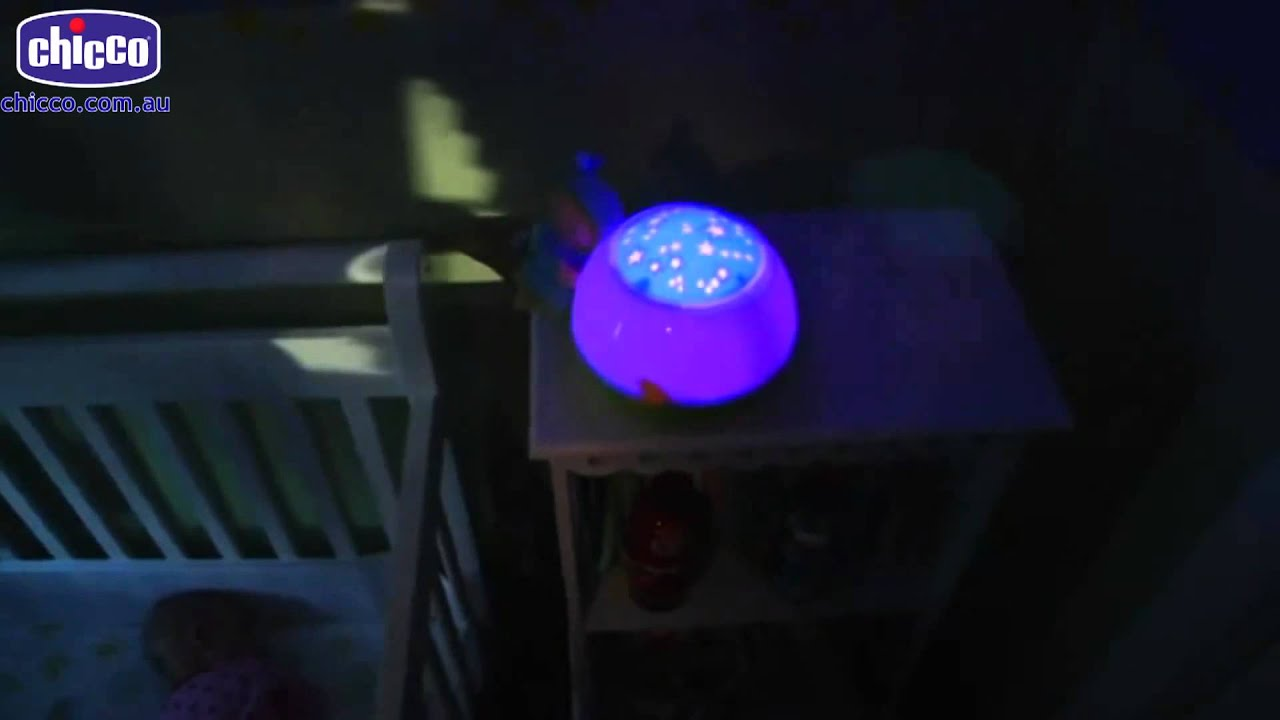 Proiettore Cubo Chicco Goodnight Stars Projector Lamp Youtube