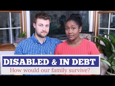 Disabled & In Debt | Would We Survive as a Single Income Family?