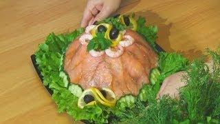 Торт из морепродуктов. Дальневосточный рецепт. Краеведение 26/04/2014 GuberniaTV