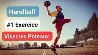 Handball - entraînement #1 Viser les Poteaux