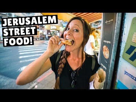 INCREDIBLE STREET FOOD in JERUSALEM (top 9 must eats)