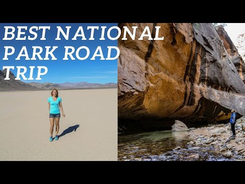 National Park Adventures- Travel Guide- Death Valley, Zion & Bryce Canyon