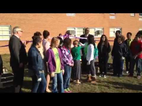 Samuel Ogle Middle School- Veggie Garden Ribbon Cutting