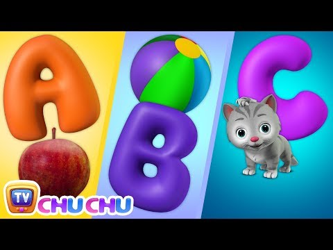 ABC Song with ChuChu Toy Train - Alphabet Song for Kids - ChuChu TV