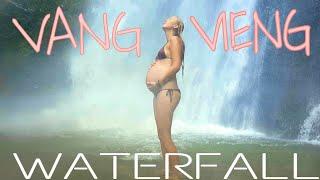 Vang Vieng LAOS | BEST WATERFALL EVER!!!
