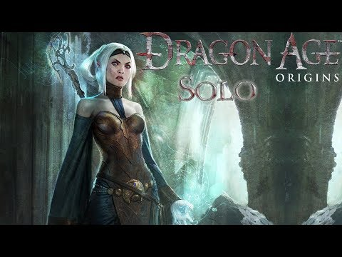 Dragon Age: Origins (Кошмарный сон) Соло-маг #1 Начало (Остагар и Лотеринг)