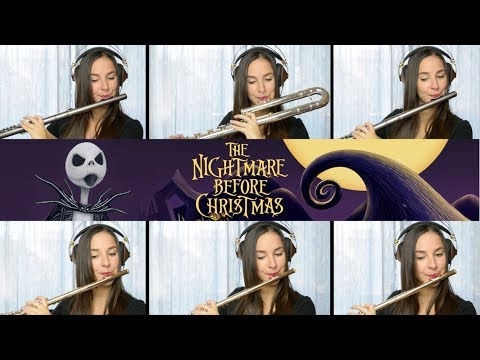 The Nightmare Before Christmas: This Is Halloween - Flute Cover