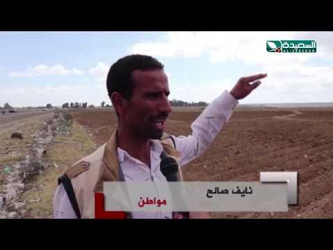 البناء والقات يغزوان اراضي قاع جهران في ذمار