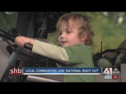 Local communities join 'National Night Out'