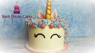Einhorntorte einfach selber machen / How to make a Unicorn Cake