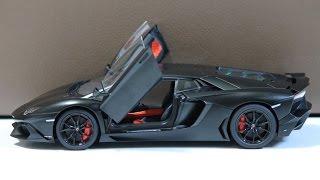 [Unboxing] 1:18 AUTOart Lamborghini Aventador LP720-4 50° Anniversario (Nero Nemesis)