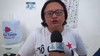 Ex vereadora Nadir Chaves em apoio a reeleição do deputado Moisés Braz
