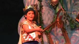 2012 Pandemonium Productions Little Mermaid Part 13a King Triton mad at Ariel