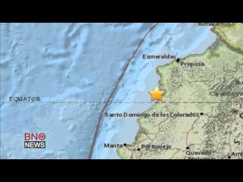 Powerful 7.8-magnitude earthquake strikes northwest Ecuador