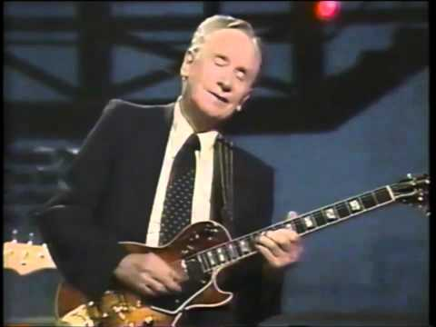 LES PAUL performs  LIVE on david letterman,  MRJONSWIFT200 channel