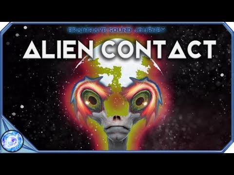 ALIEN CONTACT: Telepathy Meditation Music | Contact Higher Dimensional Beings | Theta Binaural Beats