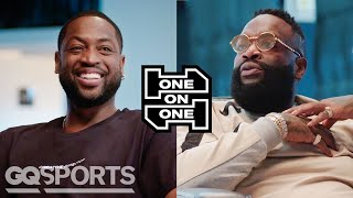 Download Dwyane Wade and Rick Ross Have an Epic Conversation | One on One | GQ Sports Mp3 and Videos