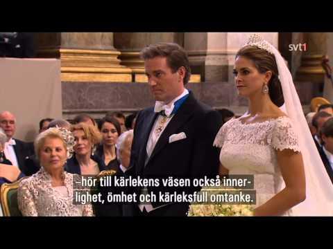 Princess Madeleine brllop - wedding - pulmatseremoonia ( kokkuvte )