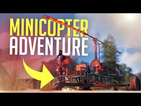 MINICOPTER ATTACK - Rust Survival thumbnail