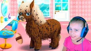 Парикмахерская для животных Игры для детей про животных