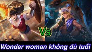 Top 1 Ata   Hướng dẫn khắc chế Wonder woman tại lane tà thần   Liên quân mobile