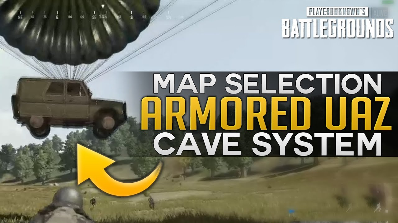 Pubg Map Selection