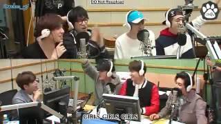 [SUB INDO] 160329 Super Junior Kiss The Radio GOT7