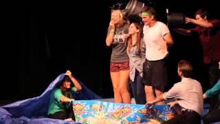 Lab Rats Ice Bucket Challenge on Stage