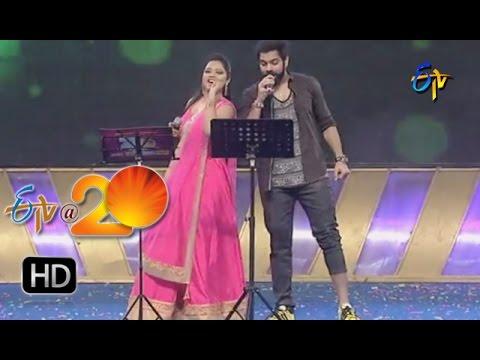 Sri Ramachandra,Ranina Reddy Performance - It's Time To Party Song in Khammam ETV @ 20 Celebrations