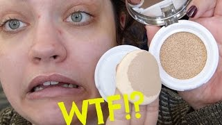 l oral lumi cushion foundation first impression review
