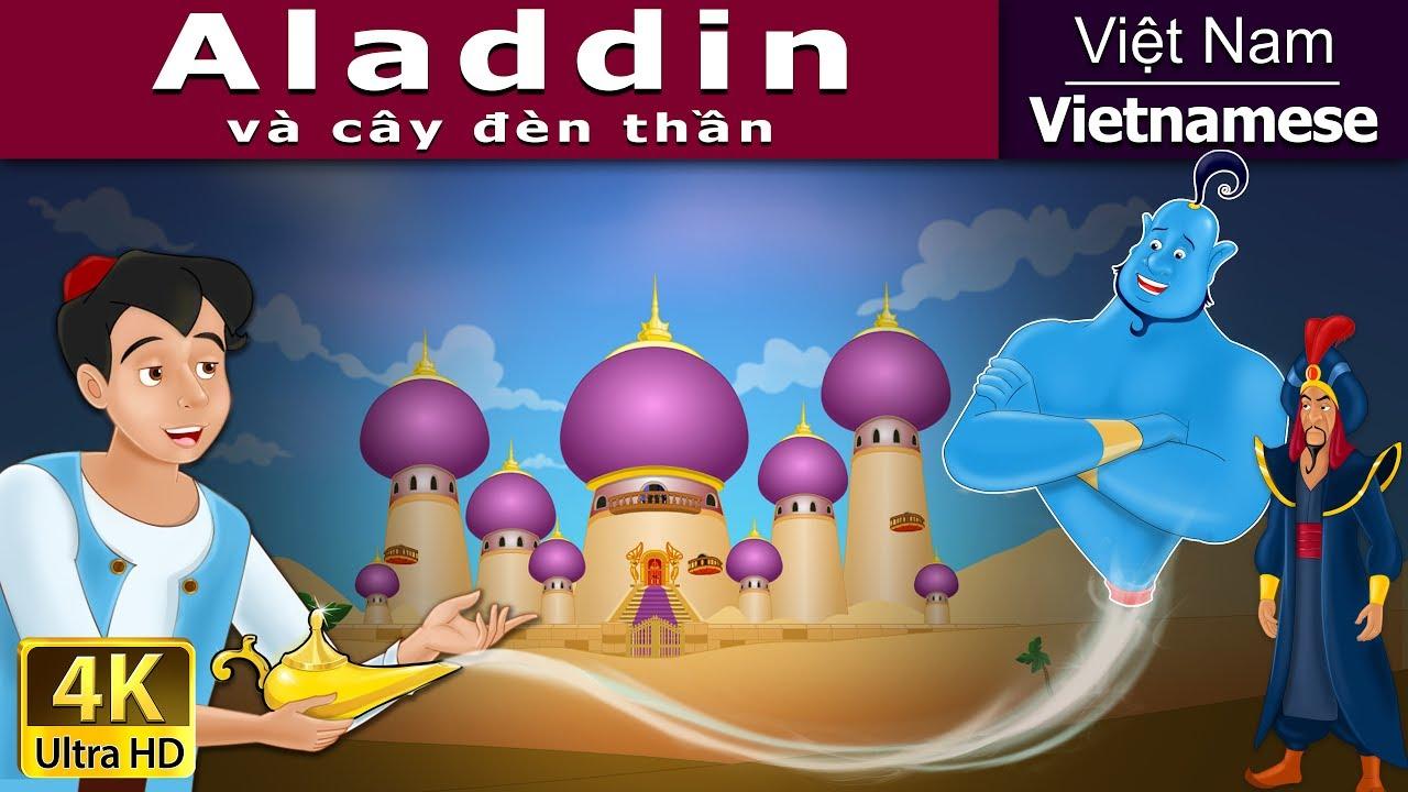 Aladdin và cây đèn thần | Chuyen co tich | Truyện cổ tích | Truyện cổ tích  việt nam