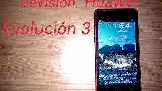 Review Huawei Evolución 3 Rojo - (CM990)