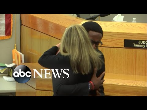 Brandt Jean to Amber Guyger: 'I forgive you'