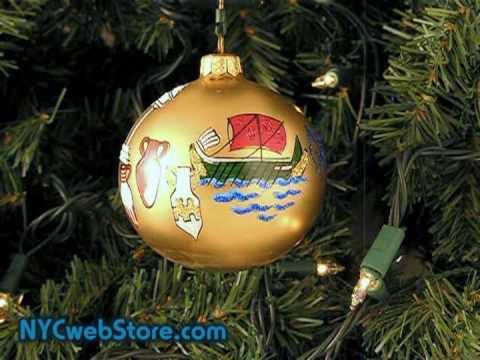 Greece Christmas Ornament  YouTube