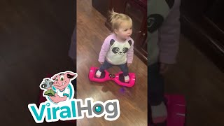 Hoverboard Toddler || ViralHog