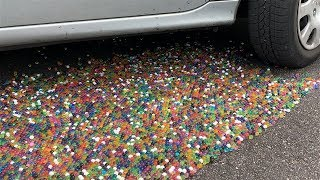 100000 Orbeez vs CAR