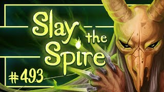 Let&#39s Play Slay the Spire: Corrupt Heart  Silent Ascension 15 - Episode 493