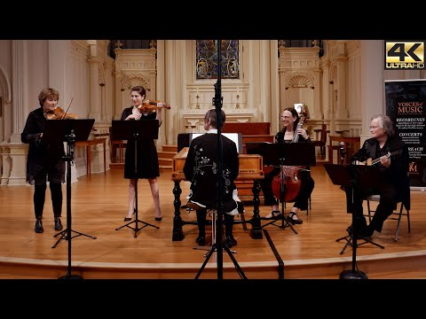 Marco Uccellini: La Bergamasca; Voices of Music with Elizabeth Blumenstock & Alana Youssefian 4K UHD