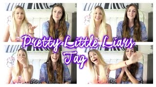 TAG Pretty Little Liars w/ EnjoyPhoenix (SPOIL !) Thumbnail