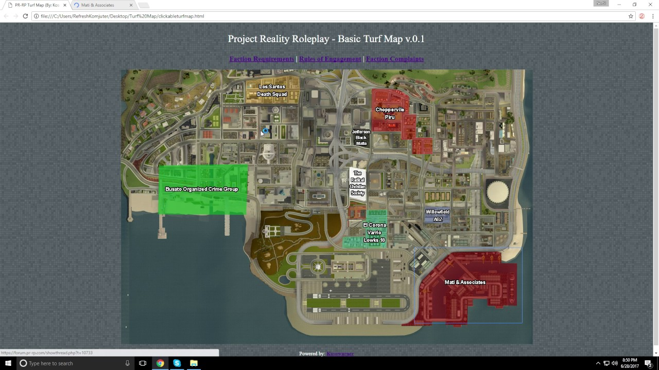 project reality roleplay An introductory course on urban dead and the local area.