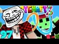 Minecraft Crazy Craft 3.0: PORTAL GUN TROLLING PRANK - DEATH TRAP #97 (Modded Roleplay)