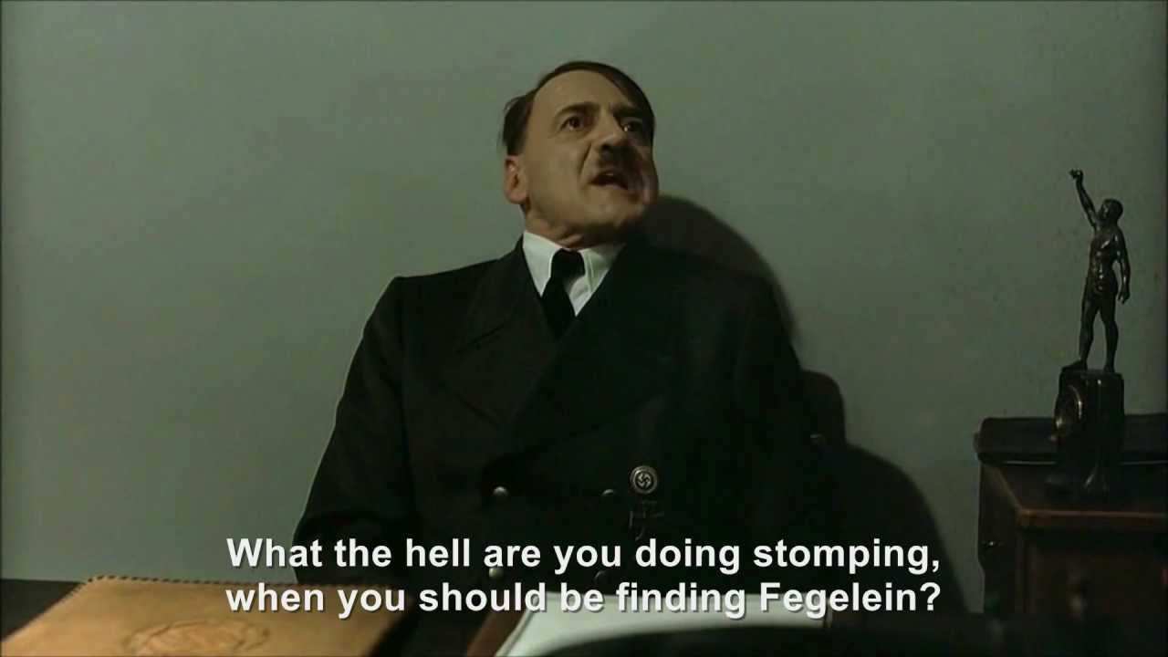 Hitler and the stomping Grawitz